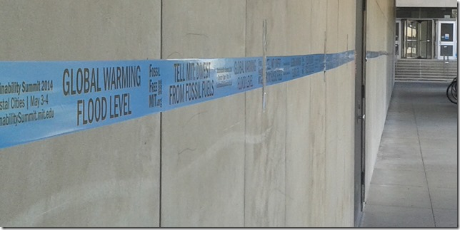 Blue Tape Flood Level