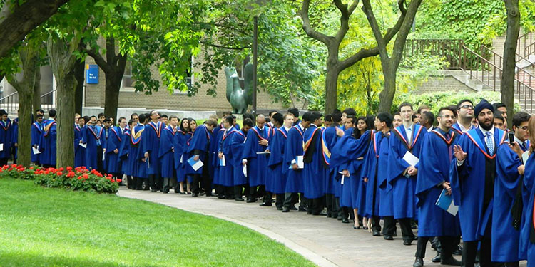 Graduates Procession, Ryerson University