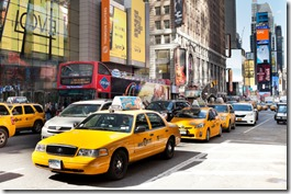 Yellow Taxis Cab